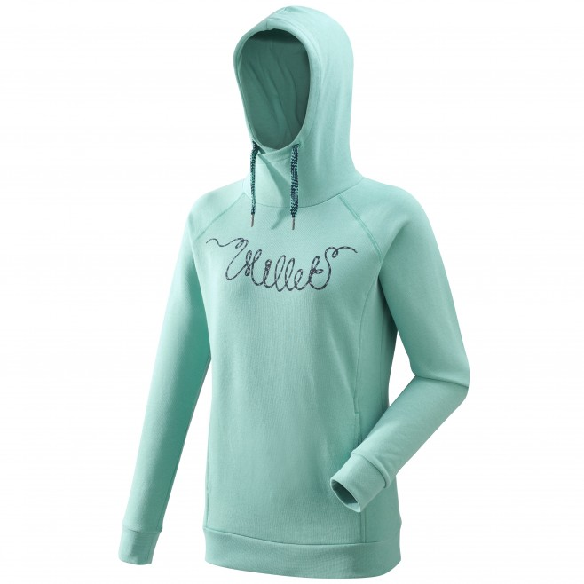 3fdb9126 ... Women's sweatshirt - climbing - green LD LINE ROPE SWEAT Millet ...