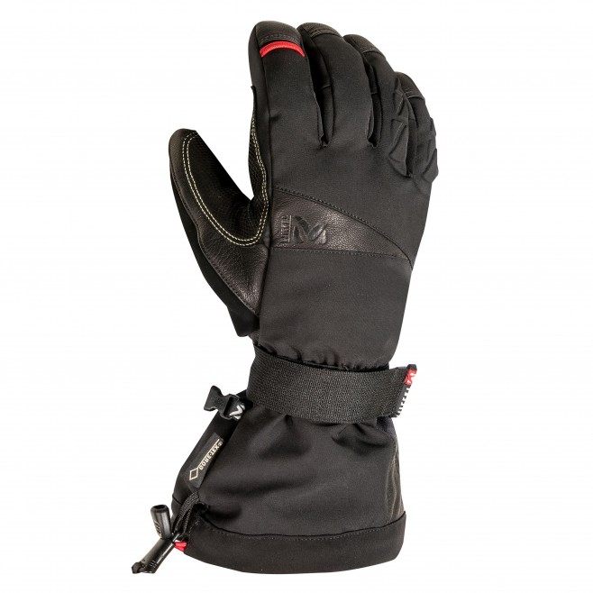 Gore-Tex gloves - black ICE FALL GTX GLOVE  Millet