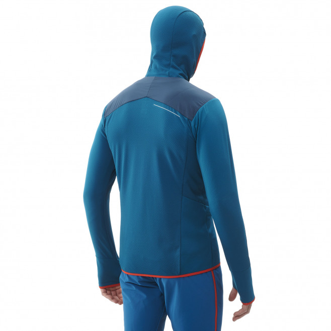 Men's warm jacket - blue Extrutoralpha H Orion Blue/Cosmic Blue Millet 3