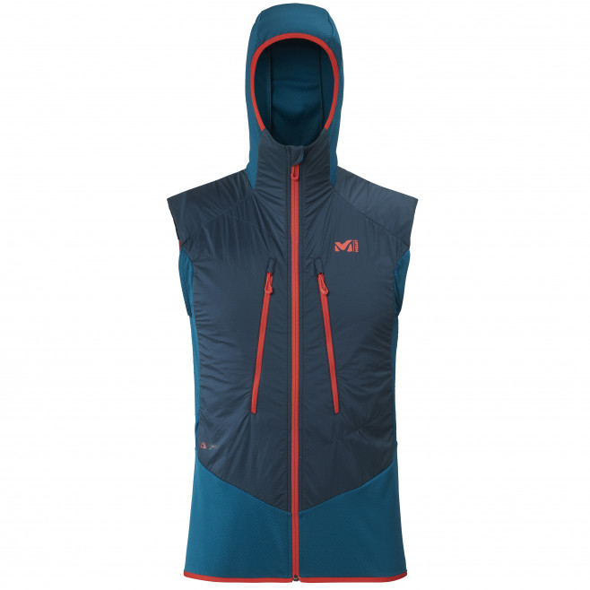 Men's warm jacket - blue EXTREME RUTOR ALPHA COMPO VEST M Millet