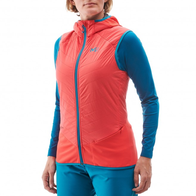 Women's sleeveless jacket - ski touring - pink LD EXTREME RUTOR ALPHA COMPO VEST Millet 2