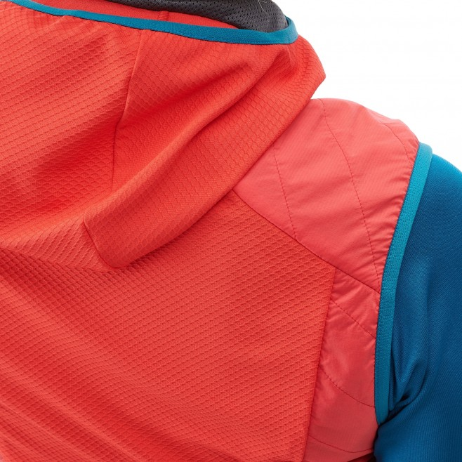 Women's sleeveless jacket - ski touring - pink LD EXTREME RUTOR ALPHA COMPO VEST Millet 5