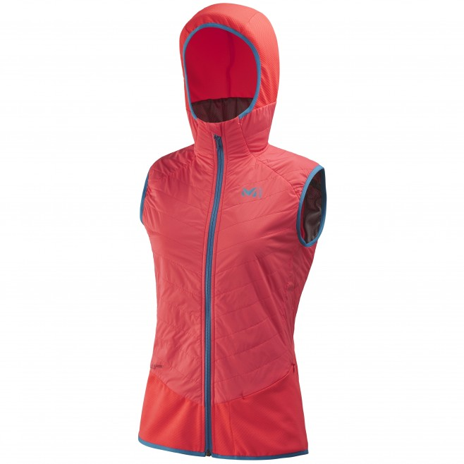 Women's sleeveless jacket - ski touring - pink LD EXTREME RUTOR ALPHA COMPO VEST Millet