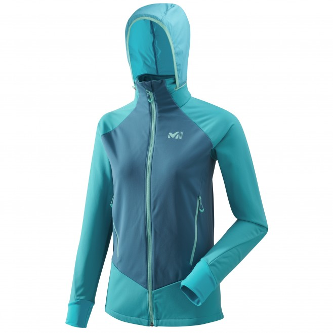Women's lightweight jacket - ski touring - blue LD PIERRA MENT II JKT Millet
