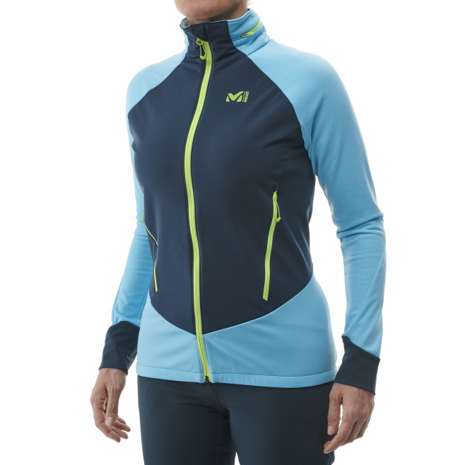 Women's lightweight jacket - ski touring - blue LD PIERRA MENT II JKT Millet 2