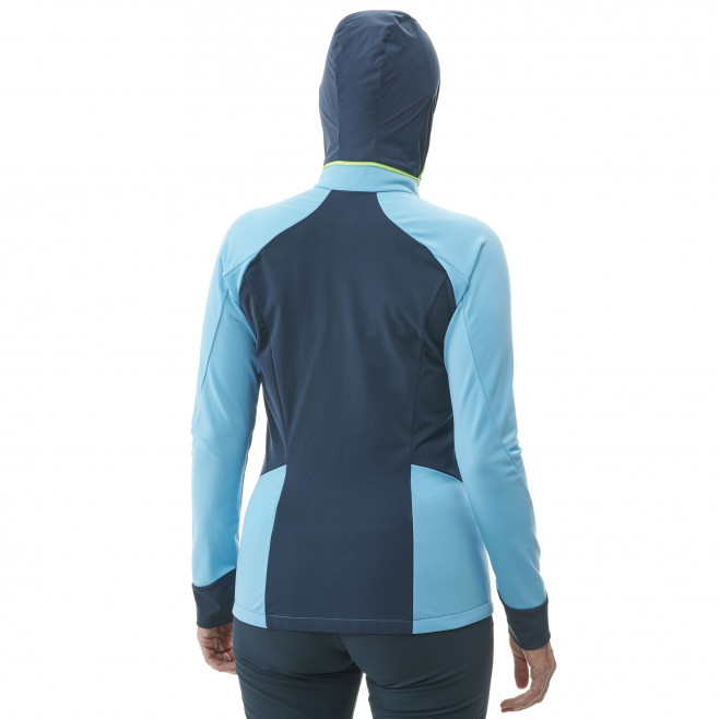 Women's lightweight jacket - ski touring - blue LD PIERRA MENT II JKT Millet 3