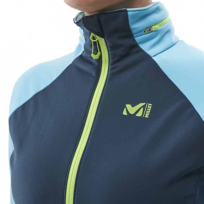 Women's softshell jacket - blue PIERRA MENT II JKT W Millet 4