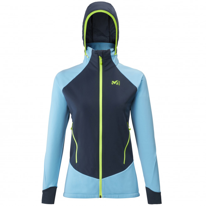Women's softshell jacket - blue PIERRA MENT II JKT W Millet