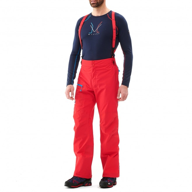 Men's gore-tex pant - mountaineering - red TRILOGY ONE GTX PRO PANT Millet 2