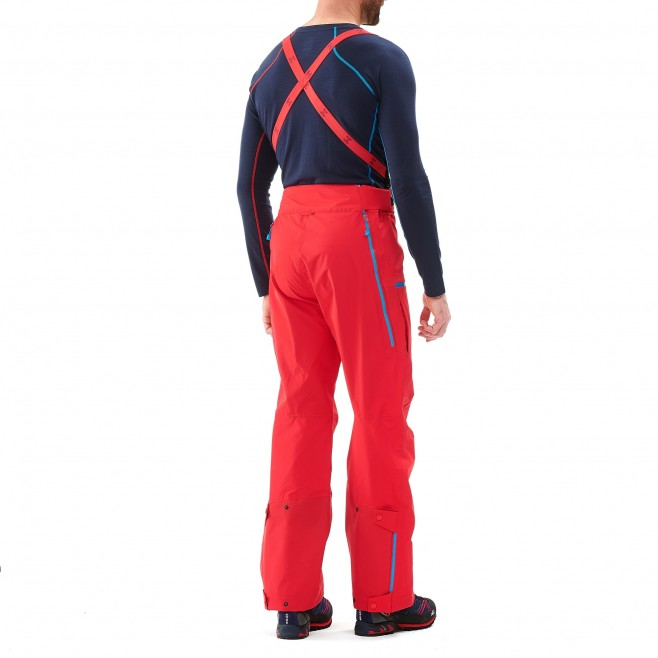 Men's gore-tex pant - mountaineering - red TRILOGY ONE GTX PRO PANT Millet 3
