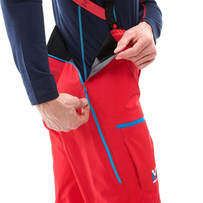 Men's gore-tex pant - mountaineering - red TRILOGY ONE GTX PRO PANT Millet 4