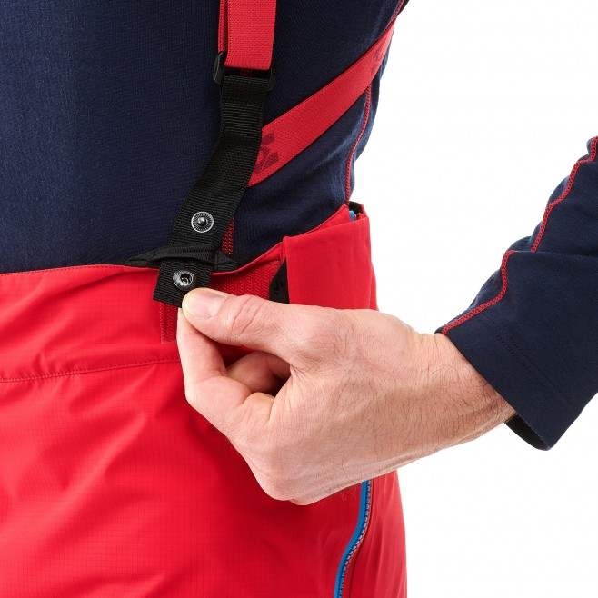 Men's gore-tex pant - mountaineering - red TRILOGY ONE GTX PRO PANT Millet 5