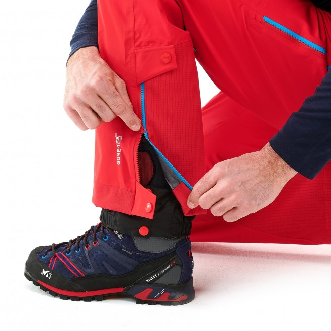 Men's gore-tex pant - mountaineering - red TRILOGY ONE GTX PRO PANT Millet 6