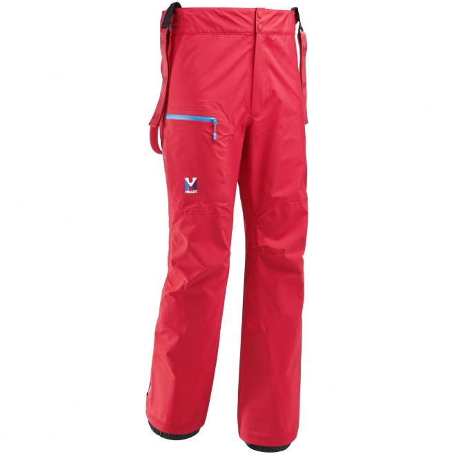 Men's gore-tex pant - mountaineering - red TRILOGY ONE GTX PRO PANT Millet