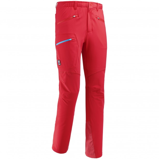 Men's wind resistant pant - approach - red TRILOGY WOOL PANT Millet