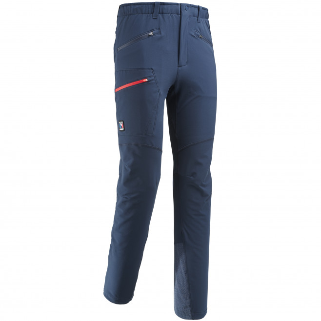 Men's wind resistant pant - navy-blue TRILOGY WOOL PANT Millet