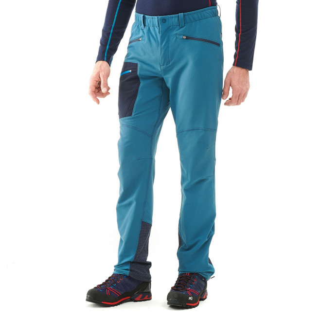 Men's wind resistant pant - blue TRILOGY WOOL PANT Millet 2