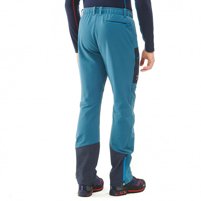 Men's wind resistant pant - blue TRILOGY WOOL PANT Millet 3