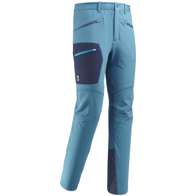 Men's wind resistant pant - blue TRILOGY WOOL PANT Millet