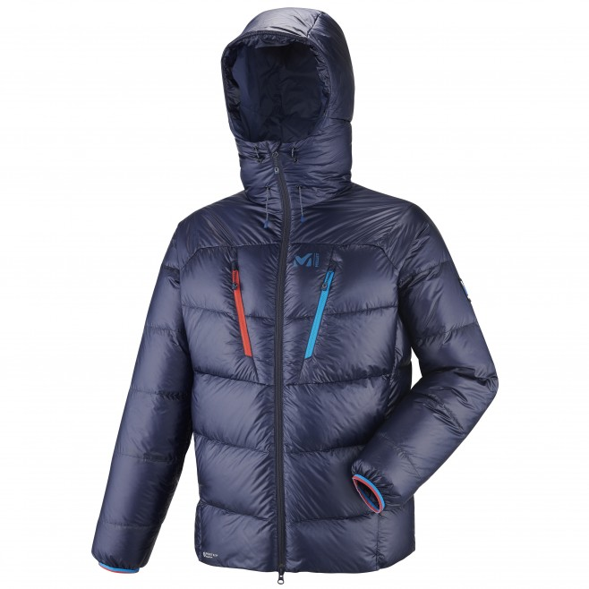 Men's down jacket - mountaineering - navy-blue TRILOGY ULTIMATE DOWN JKT Millet