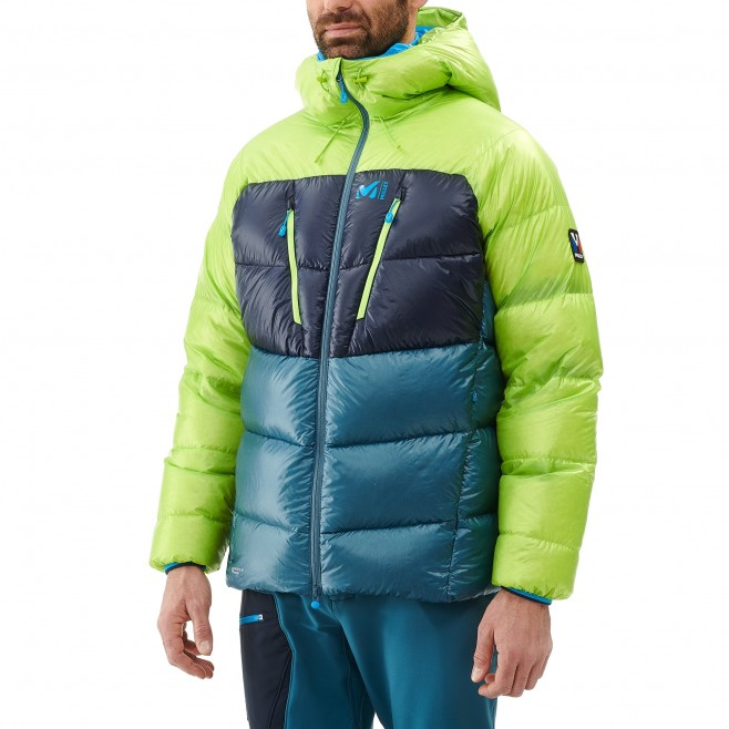 Men's down jacket - mountaineering - navy-blue TRILOGY ULTIMATE DOWN JKT Millet 4