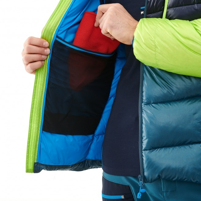 Men's down jacket - mountaineering - navy-blue TRILOGY ULTIMATE DOWN JKT Millet 2