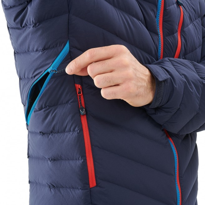 Men's down jacket - mountaineering - navy-blue TRILOGY SYNTH'X STRETCH DOWN JKT Millet 4