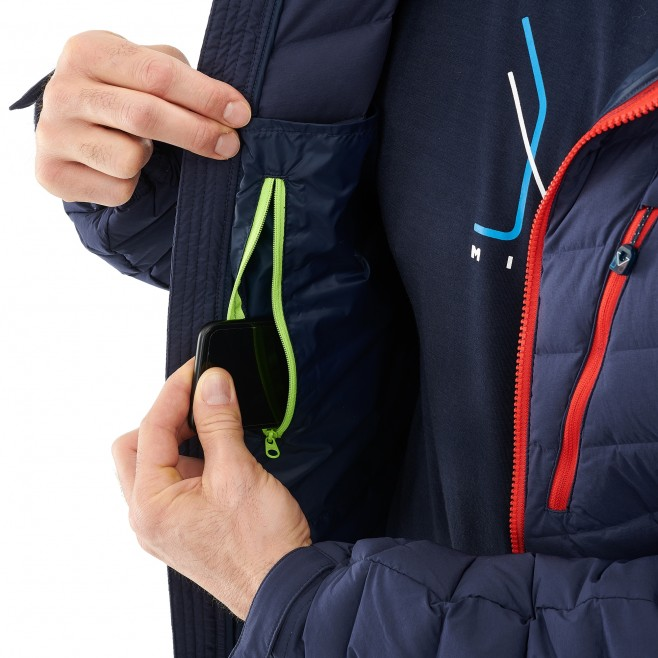 Men's down jacket - mountaineering - navy-blue TRILOGY SYNTH'X STRETCH DOWN JKT Millet 5