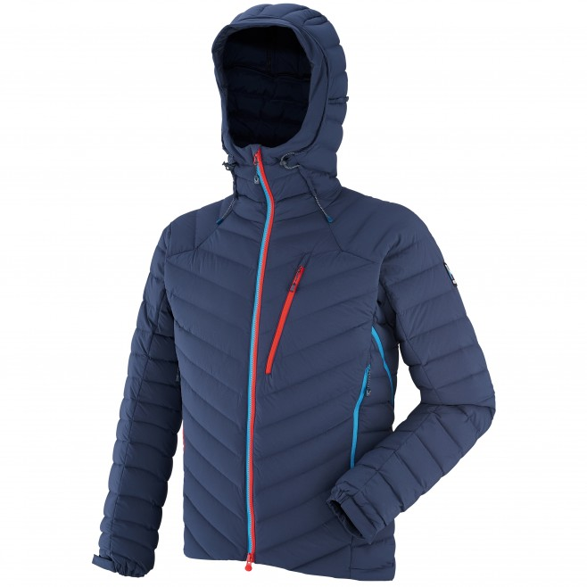 Men's down jacket - mountaineering - navy-blue TRILOGY SYNTH'X STRETCH DOWN JKT Millet