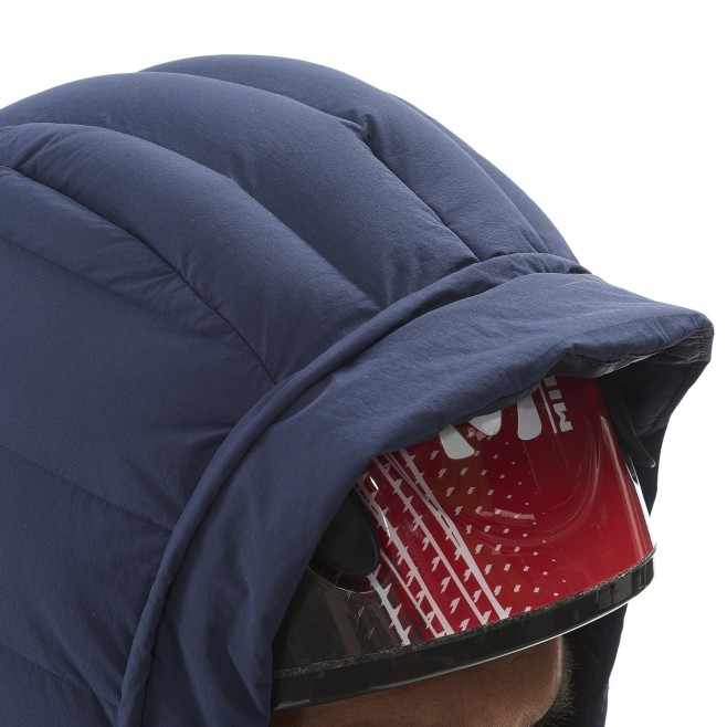 Men's down jacket - mountaineering - navy-blue TRILOGY SYNTH'X STRETCH DOWN JKT Millet 8