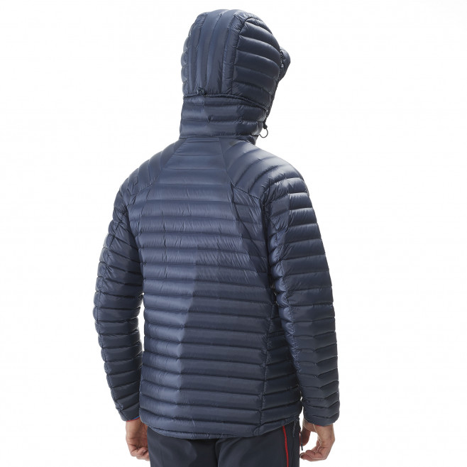 Men's downjacket - navy-blue TRILOGY SYNTH'X DOWN HOODIE Millet 3