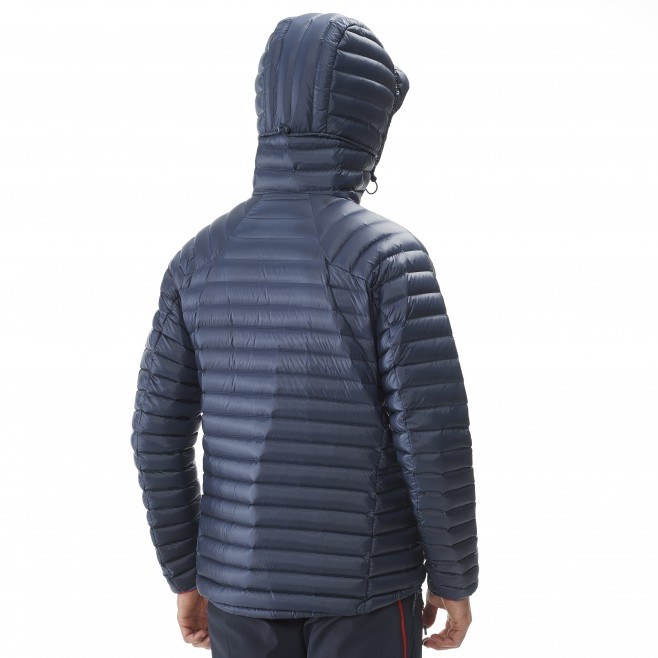 Men's down jacket - mountaineering - blue TRILOGY SYNTH'X DOWN HOODIE Millet 9