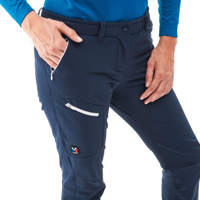 Women's wind resistant pant - approach - blue LD TRILOGY WOOL PANT Millet 5