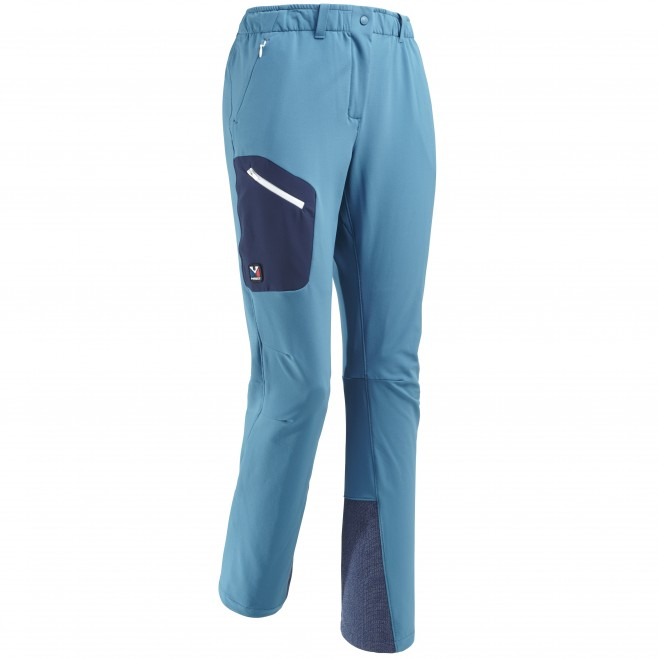 Women's wind resistant pant - approach - blue LD TRILOGY WOOL PANT Millet