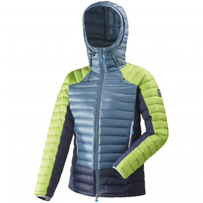 Women's down jacket - mountaineering - blue LD TRILOGY DUAL SYNTH'X DOWN HOODIE Millet
