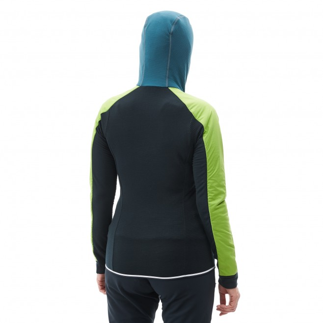 Women's warm jacket - mountaineering - blue LD TRILOGY DUAL ALPHA D HOODIE Millet 4