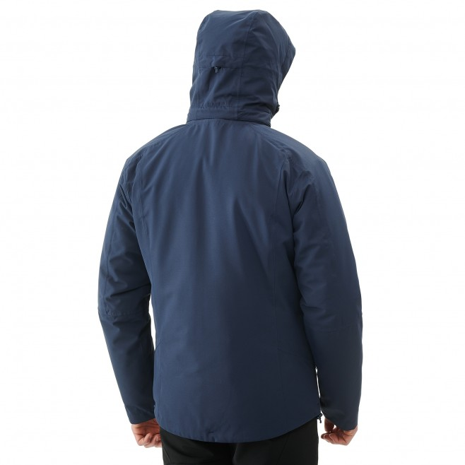 Men's 3 in 1 jacket - hiking - navy-blue POBEDA II 3 IN 1 JKT Millet 8