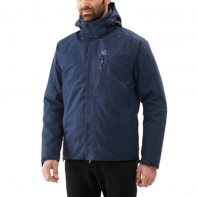 Men's 3 in 1 jacket - hiking - navy-blue POBEDA II 3 IN 1 JKT Millet 6