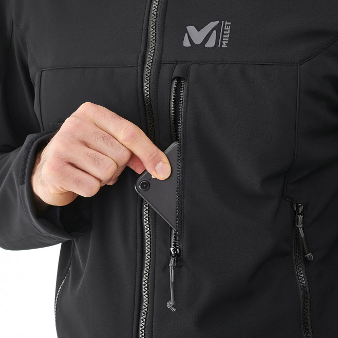 Men's softshell jacket - navy-blue TRACK JKT M Millet 2