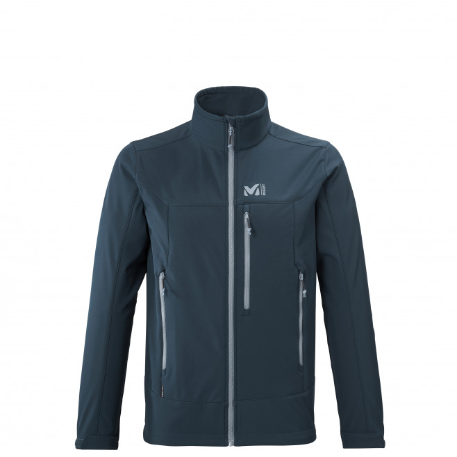 Men's softshell jacket - navy-blue TRACK JKT M Millet