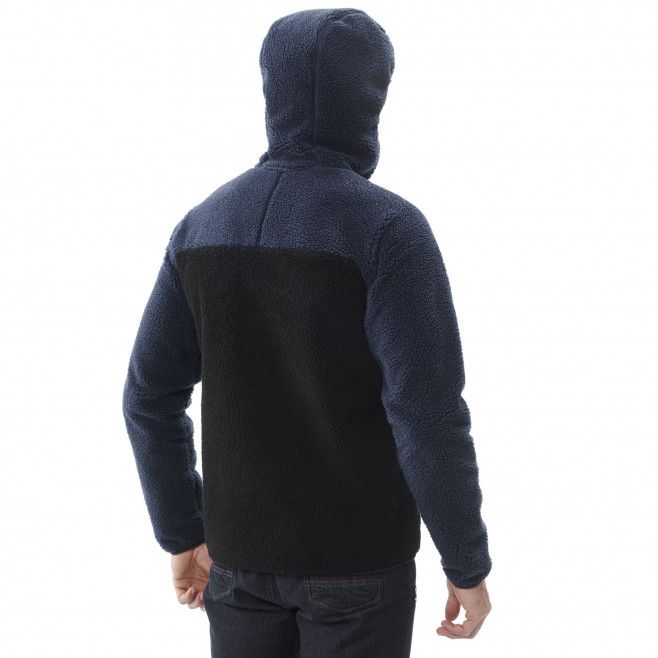 Men's very warm jacket - black 8 SEVEN WINDSHEEP HOODIE M Millet 3