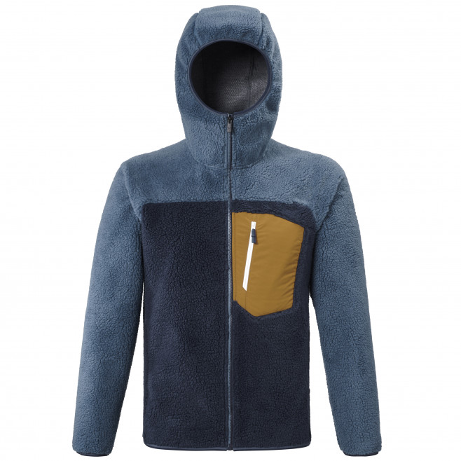 Men's very warm jacket - navy-blue 8 SEVEN WINDSHEEP HOODIE M Millet
