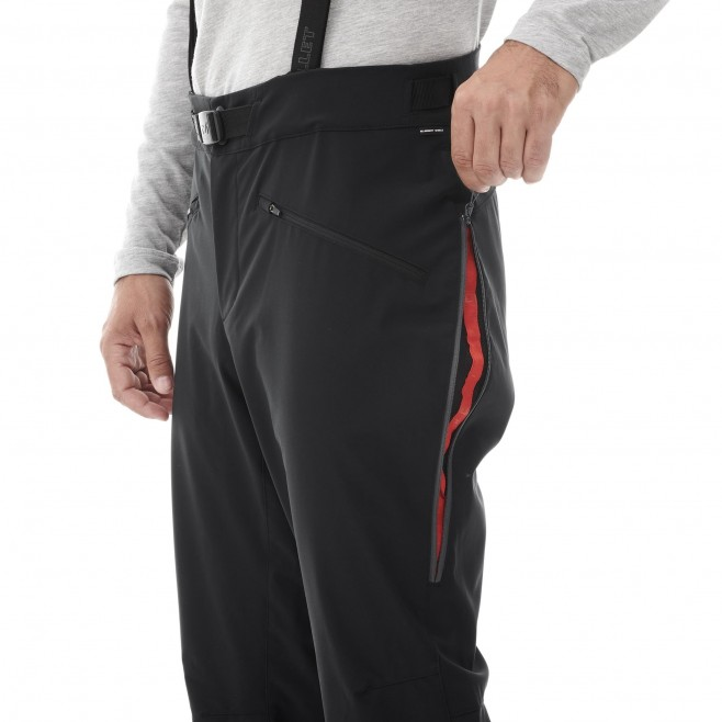Men's softshell pant - approach - navy-blue NEEDLES SHIELD PANT Millet 4