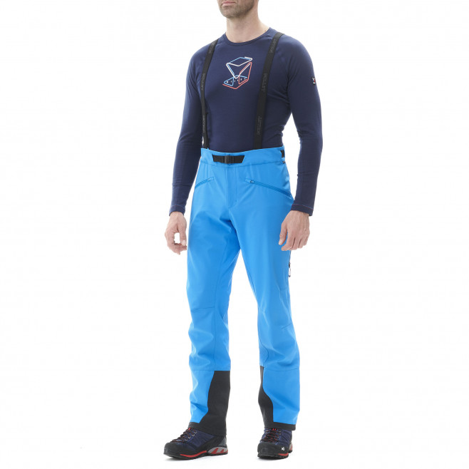 Men's wind resistant pant - blue NEEDLES SHIELD PANT M Millet 2