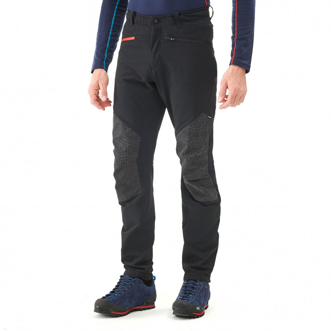 Men's wind resistant pant - black SUMMIT 200 XCS PANT Millet 4