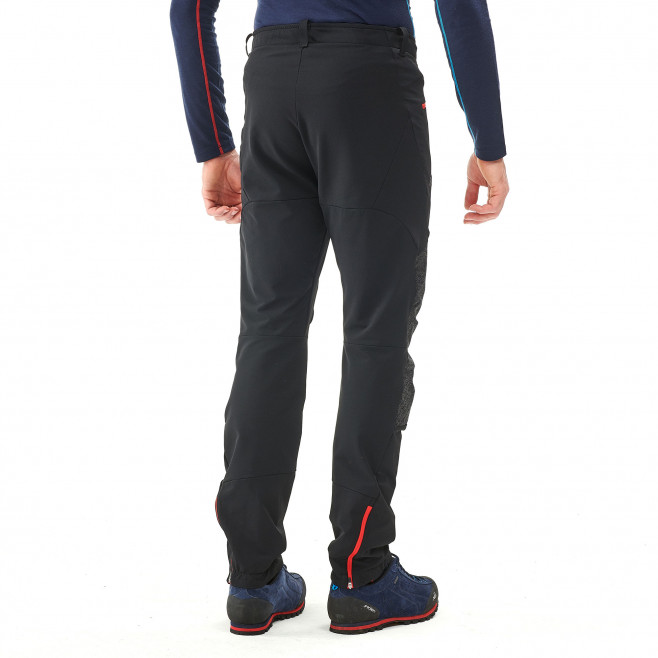 Men's wind resistant pant - black SUMMIT 200 XCS PANT Millet 5