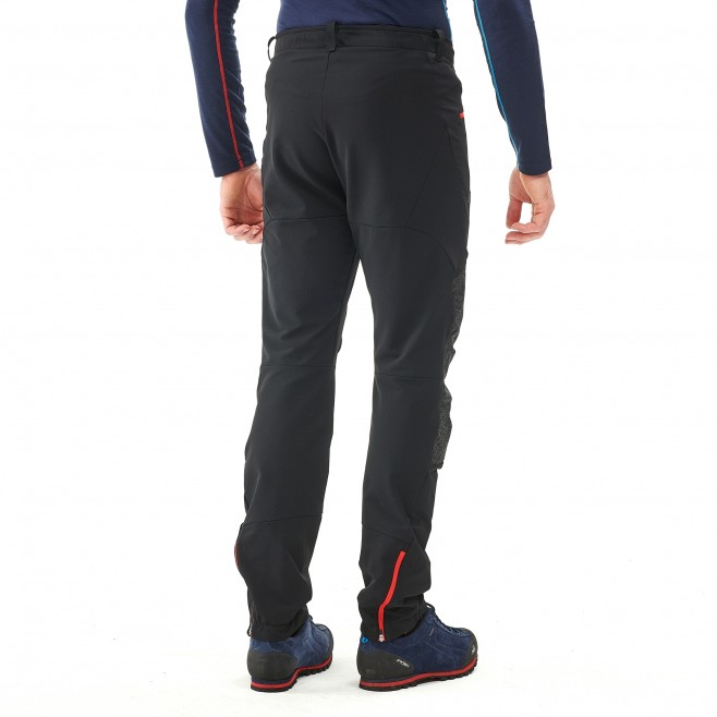 Men's wind resistant pant - mountaineering - black SUMMIT 200 XCS PANT Millet 3