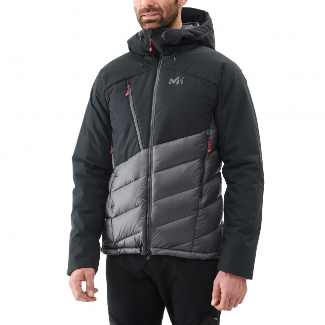 Men's down jacket - mountaineering - navy-blue ELEVATION DUAL DOWN JKT Millet 3