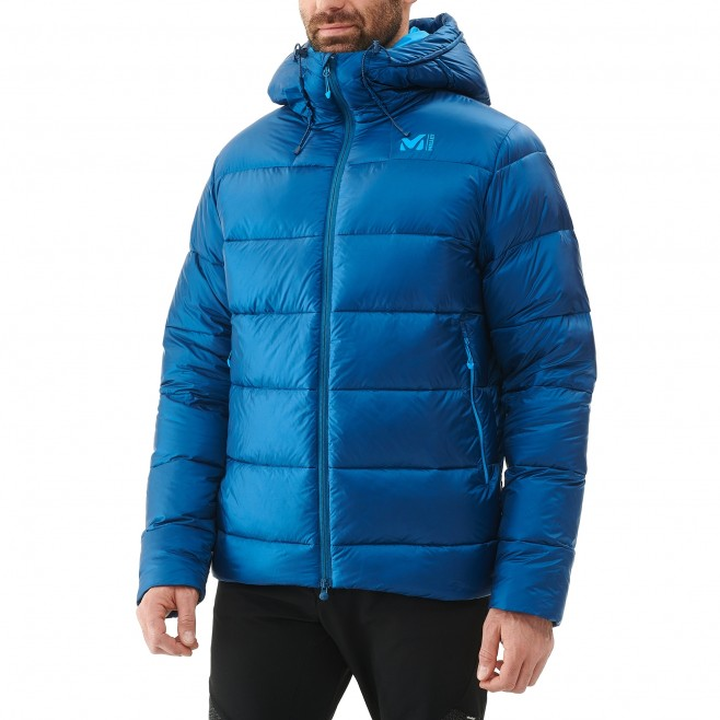 Men's down jacket - mountaineering - navy-blue K DOWN JKT Millet 2