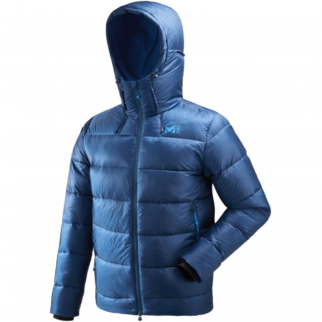 Men's down jacket - mountaineering - navy-blue K DOWN JKT Millet